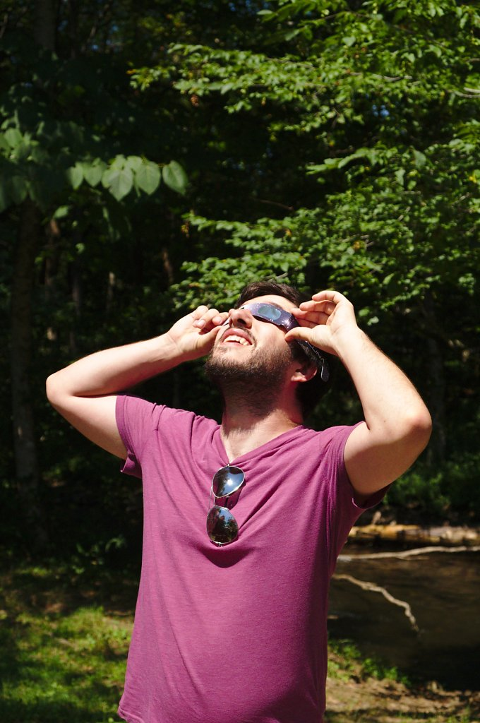 Solar Eclipse at the Smokies